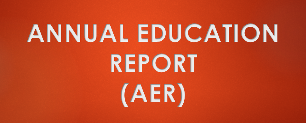 Annual Education Report